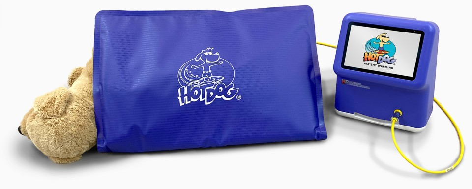 HotDog Veterinary Warming System blanket and WC71 Controller